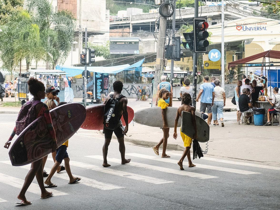 Surfer in Rio