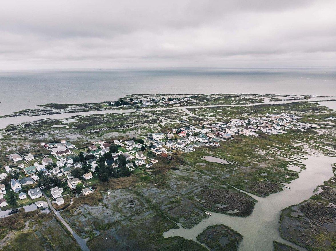 Tangier Island,  USA, Klimawandel, Klimaflucht