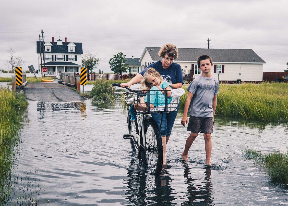 Tangier Island, USA, Klima, Klimawandel, Hochwasser