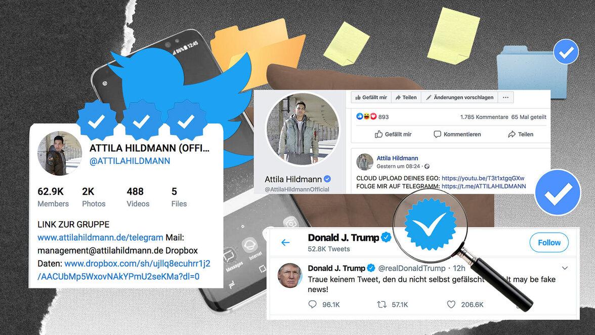 Twitter, Fake