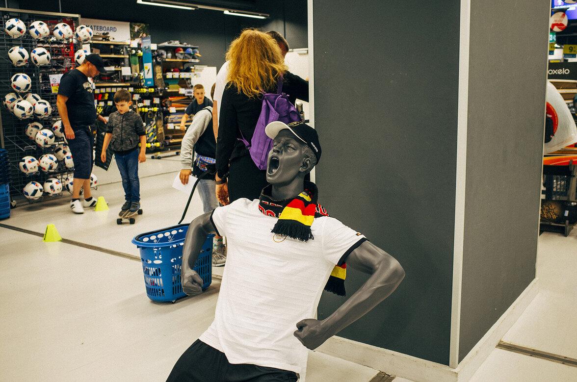 Vater, Shopping