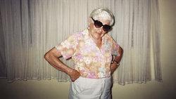 Portrait einer Rentnerin