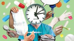 Krankenpflegercollage