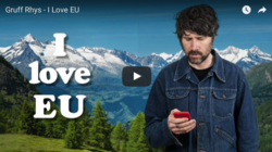 """Youtube-Video von Gruff Rhys zum Brexit: """"I love EU"""""""