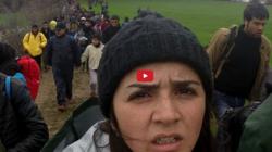 Rania Mustafa Ali auf der Flucht