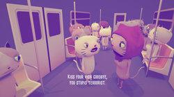 "Szene aus dem Spiel ""Cat in a hijab"""