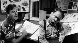 Cartoonzeichner mussten sich früher das menschliche Mienenspiel in einem Spiegel auf dem Schreibtisch immer wieder selbst vor Augen halten