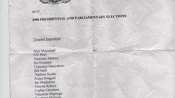 """Die Namen von 14 Journalisten und darunter die Anweisung, sie zu überwachen, festzunehmen und weitere """"Maßnahmen"""" zu ergreifen"""