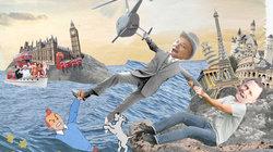 Kollage Brexit: Daniel Tetlow und Robert Sleigh