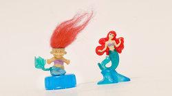 Troll und Meerjungfrau