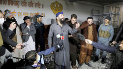 Anschlag auf einen Sikh Tempel in Kabul