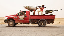 Libyan battle truck; Foto: James Mollison