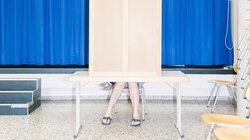 Wahlkabine