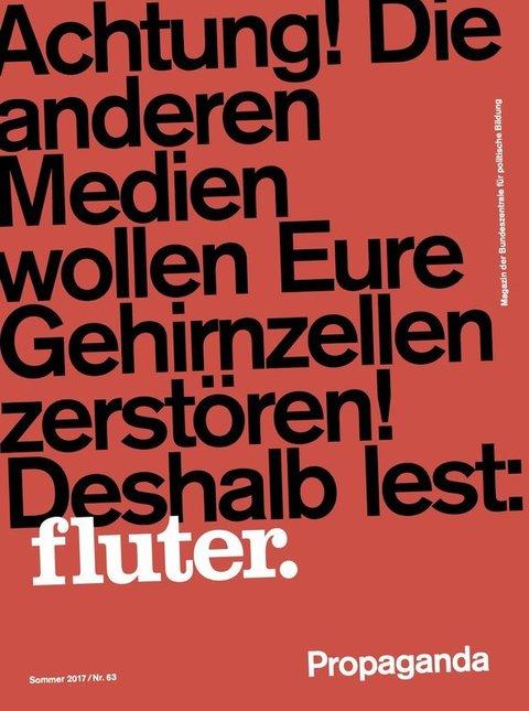 fluter Heft 63 Propaganda
