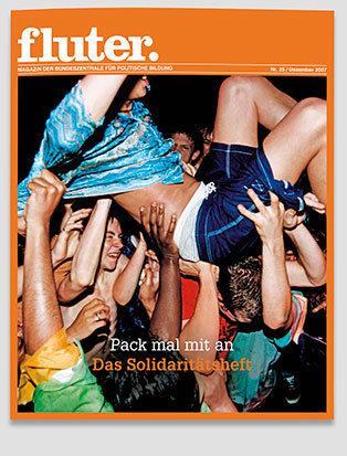 Fluter Heft Nr. 25 - Solidarität Heft-Cover