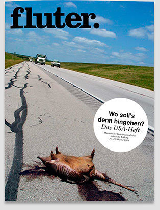 Fluter Heft Nr. 28 - USA Heft-Cover