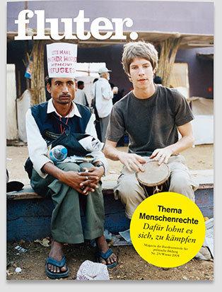 Fluter Heft Nr. 29 - Menschenrechte Heft-Cover