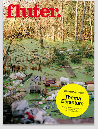 Fluter Heft Nr. 32 - Eigentum Heft-Cover