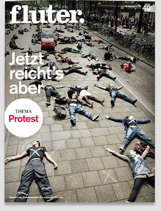 Fluter Heft Nr. 40 - Protest Heft-Cover