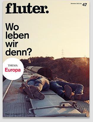 Fluter Heft Nr. 47 - Europa Heft-Cover