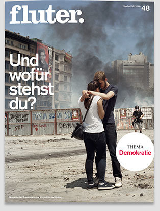 Fluter Heft Nr. 48 - Demokratie Heft-Cover