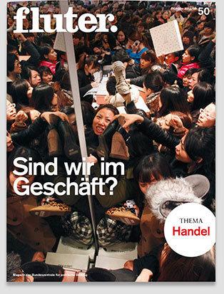 Fluter Heft Nr. 50 - Handel Heft-Cover