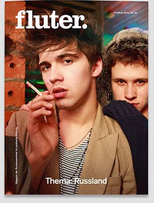 Fluter Heft 54 - Russland - Heft-Cover