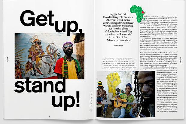 fluter Heft Nr. 59 - Afrika - Doppelseite 1