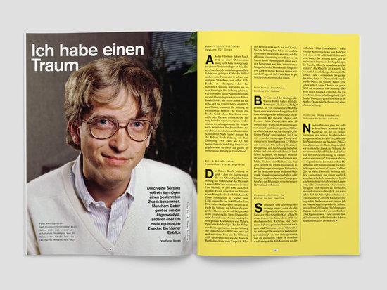 fluter Magazin Nr. 64 Reichtum Doppelseite