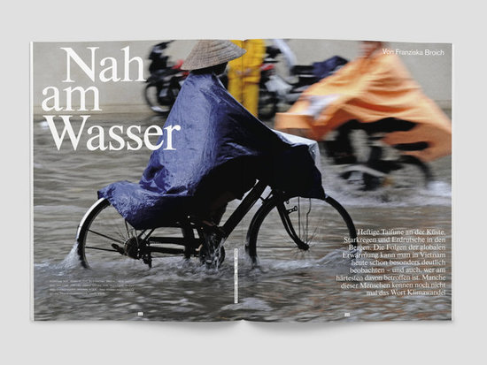 Fluter Magazin zum Thema Klimawandel