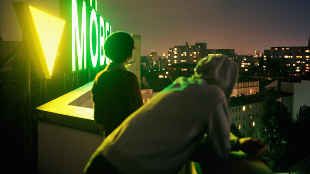 Auf dem Dach der Möbel Olfe; Kottbusser Tor; Foto Rene Zieger/OSTKREUZ