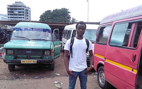 Agomo Atambire zurück in Ghana