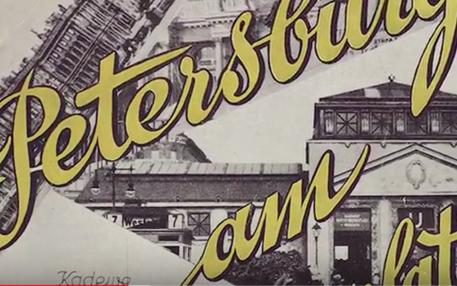Russische Gemeinschaft in Berlin: Anzeige aus den 20er Jahren
