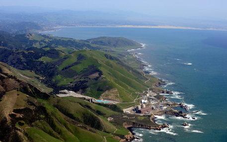 Schmiegt sich malerisch an die raue Pazifikküste: Das Diablo Canyon Power Plant