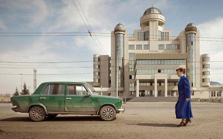 So gar keine Angst vor architektonischen Ordnungswidrigkeiten: Das Gebäude der Verkehrspolizei von Kasan