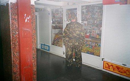 Ein modischer Freischärler: Armeekleidung, so der Autor William Gibson, soll suggerieren, ihr Träger habe besondere Fähigkeiten