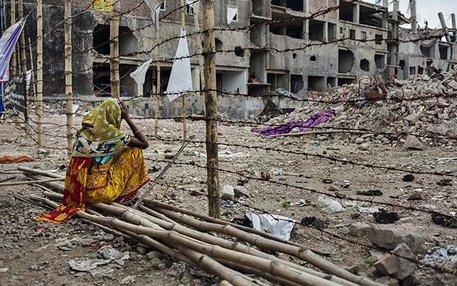 Drei Monate nach dem Unglück wartet eine Mutter immer noch darauf, dass ihre Tochter aus den Trümmern geborgen wird