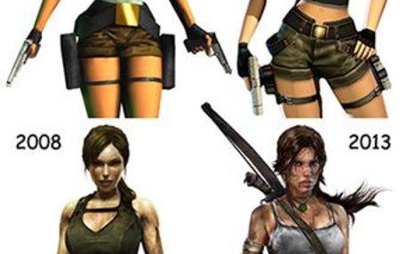 Von der Kampfmaschine mit Riesenbrüsten zur Frau mit Charakter: der Pixelsuperstar Lara Croft