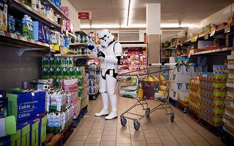 Kulturschock Supermarkt oder: Möge die Pfannkuchenteig-Dosierflasche mit dir sein.