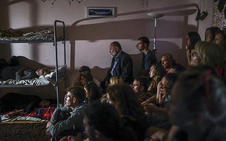 Ziemlich Underground, dieses Theater: Aus Angst vor Repressionen des Staates sind die Stücke des Belarus Free Theatre nur in privaten Wohnungen zu sehen, die von Mittelsmännern angemietet werden.