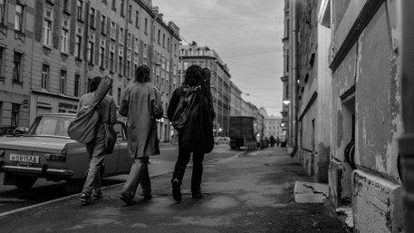 Szene aus dem Film Leto