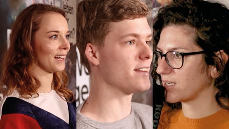 Junge Filmschaffende: Lisa Stutzky, Til Schindler und Sabine Panossian