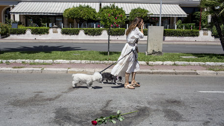 Nizza nach dem Anschlag im Juli 2016
