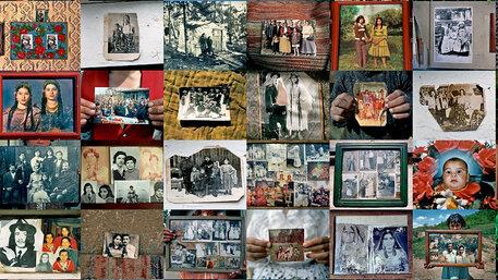 Roma und Sinti Familienfotos