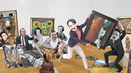 Pro & Contra Trennung Künstler Werk