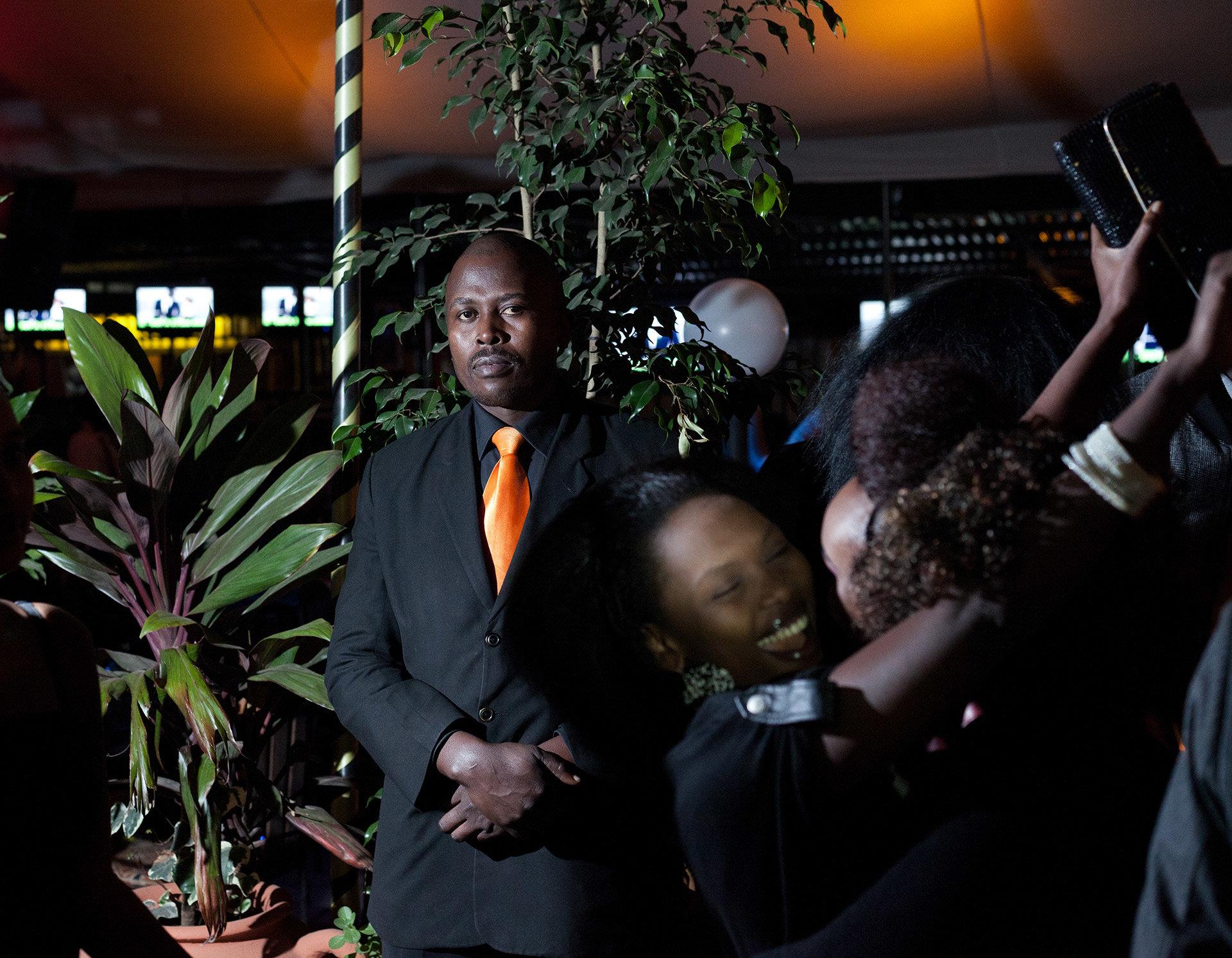 Thomas ist der Türsteher des berühmten Nachtclubs K1.
