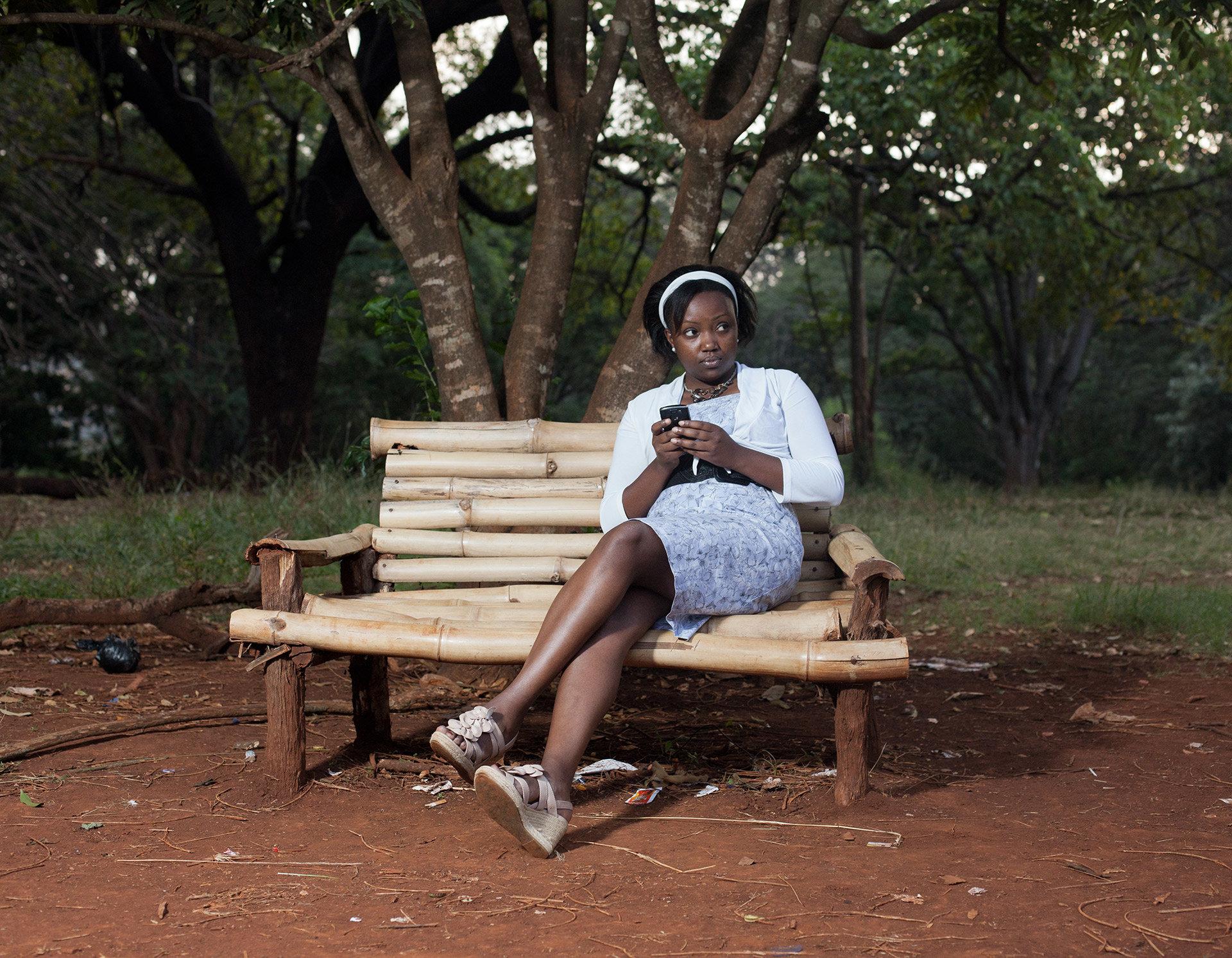 Faith ist Anwältin. In ihrer Freizeit verbringt sie viel Zeit in diesem Park.