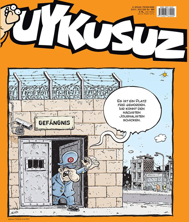 Uykusuz: Satire in der Türkei