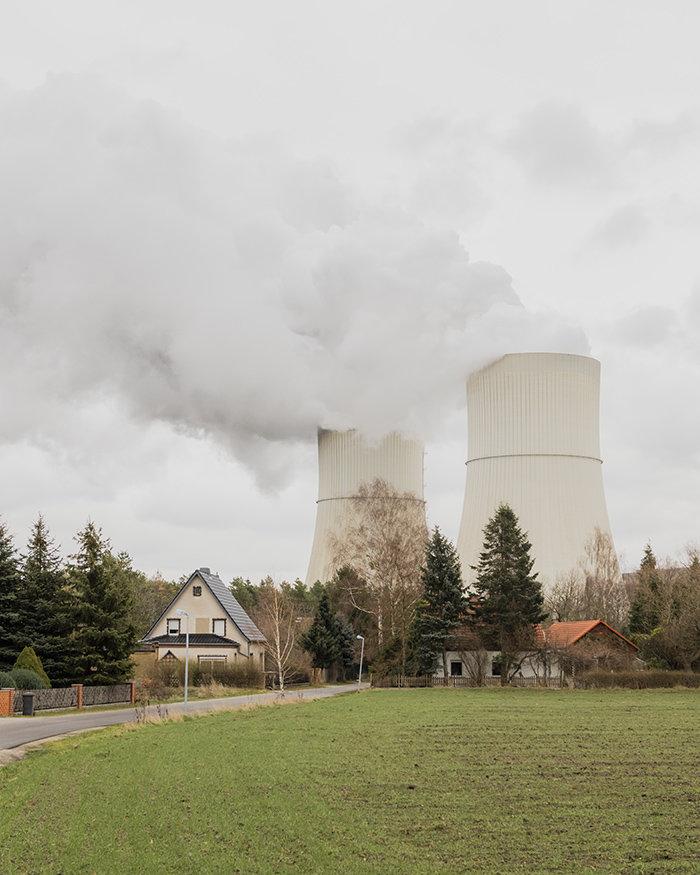 Schornsteine in der Lausitz
